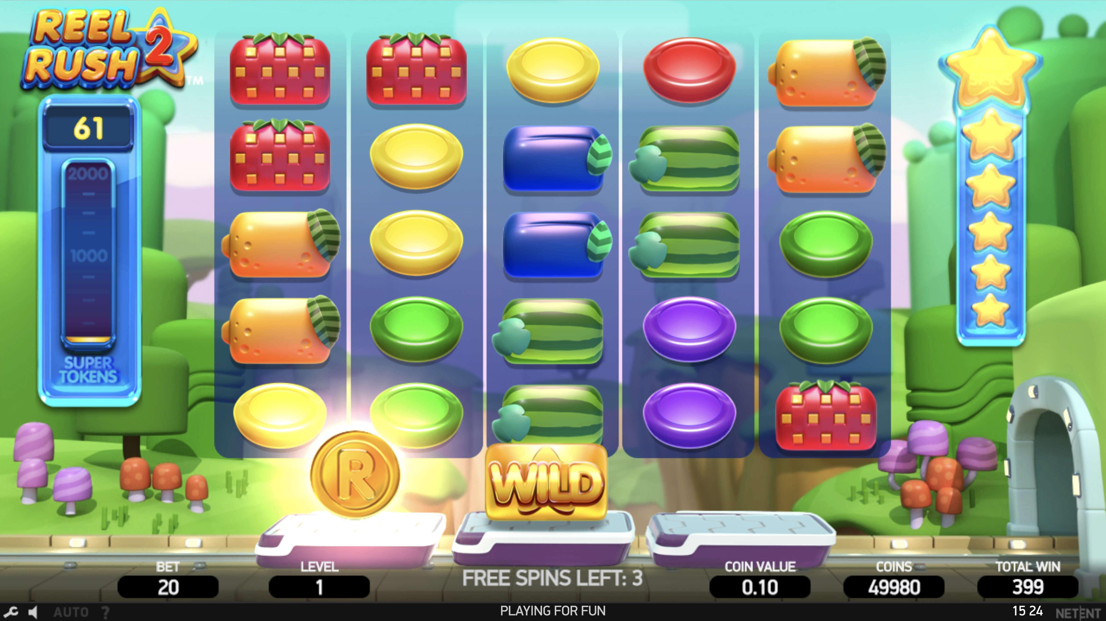 reel rush 2 игровой автомат crazy