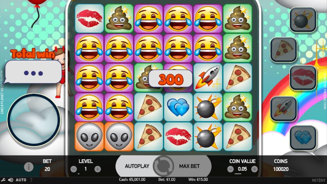 Emojiplanet Free Play Slot
